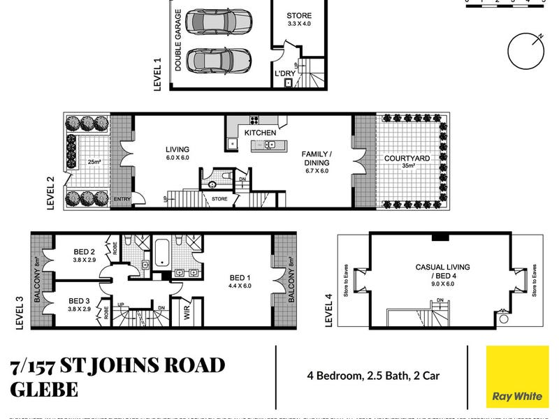 Terrace 7/157 St Johns Road, Glebe, NSW 2037 - floorplan