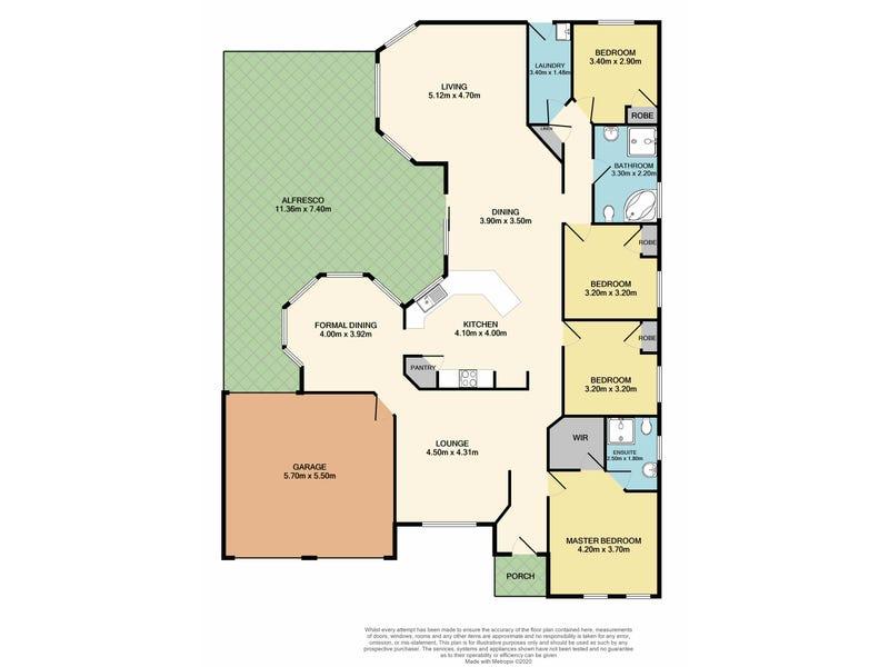 3 Belah Place, Largs, NSW 2320 - floorplan