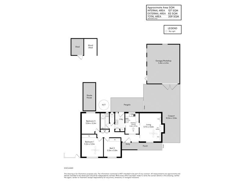 5 Elm Street, Hawthorndene, SA 5051 - floorplan