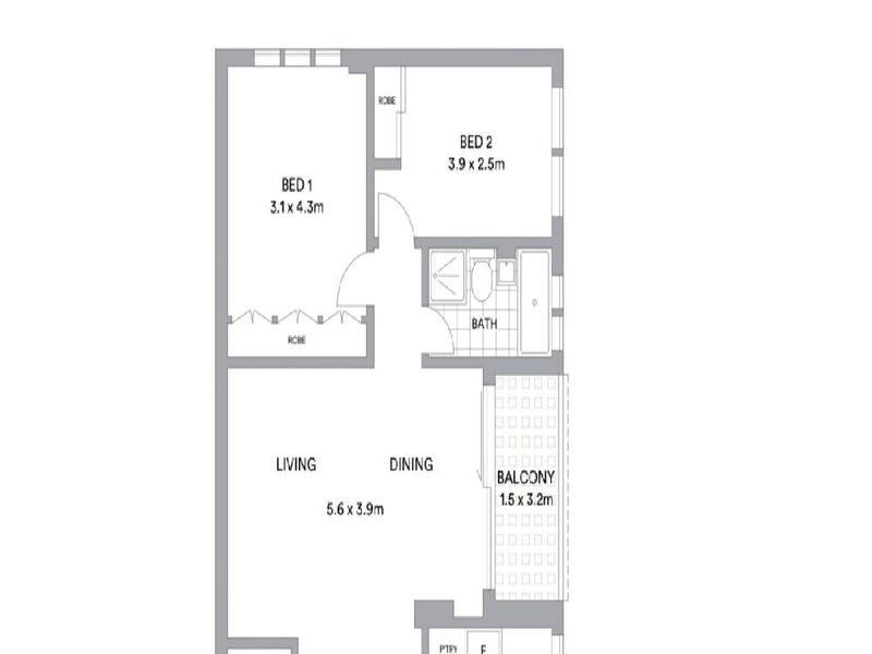 7B/72 Prince Street, Mosman, NSW 2088 - floorplan