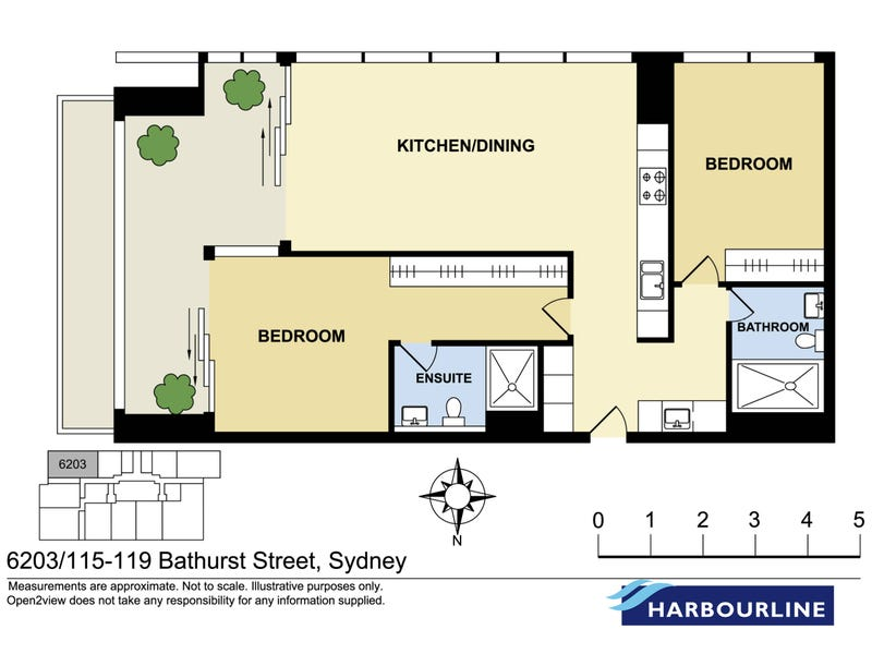 62.03/115 Bathurst Street, Sydney, NSW 2000 - floorplan