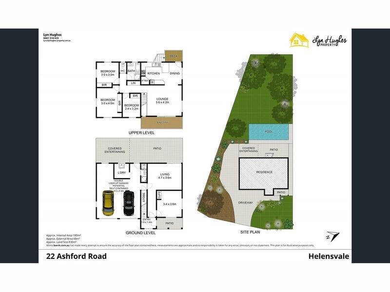 22 Ashford Road, Helensvale, Qld 4212 - floorplan