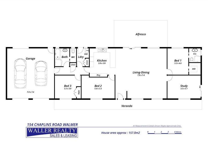 154 Chaplins Road, Walmer, Vic 3463 - floorplan