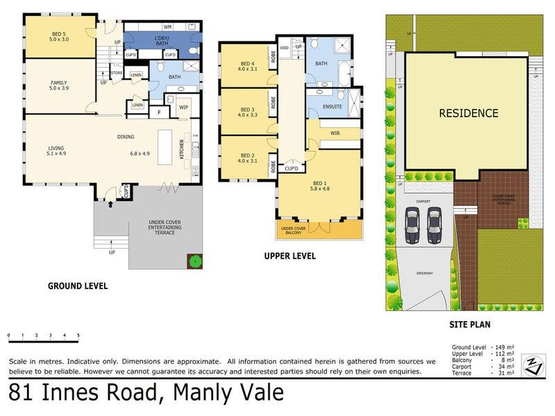 81 Innes Road, Manly Vale, NSW 2093 - floorplan