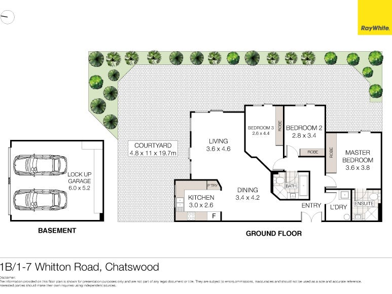 1B/1-7 Whitton Road, Chatswood, NSW 2067 - floorplan