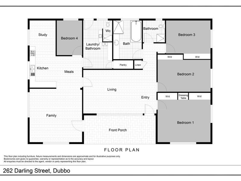 262 Darling Street, Dubbo, NSW 2830 - floorplan