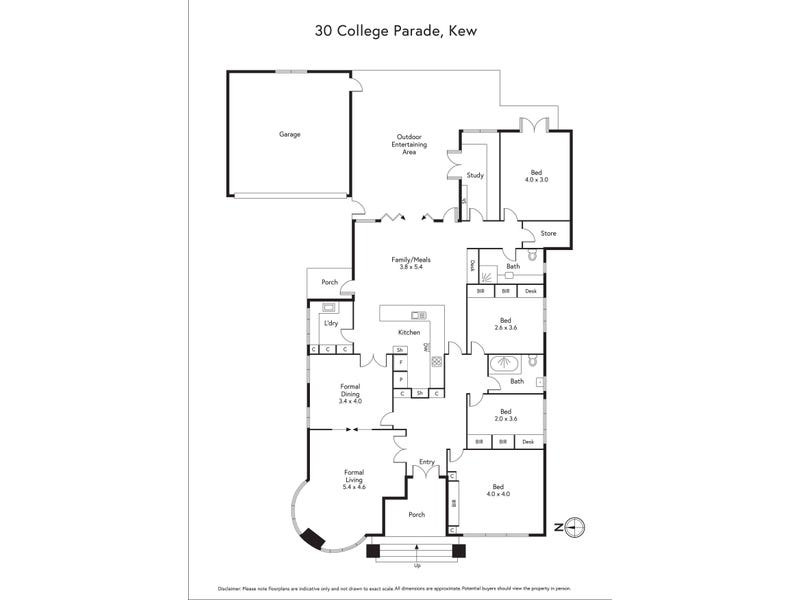 30 College Parade, Kew, Vic 3101 - floorplan