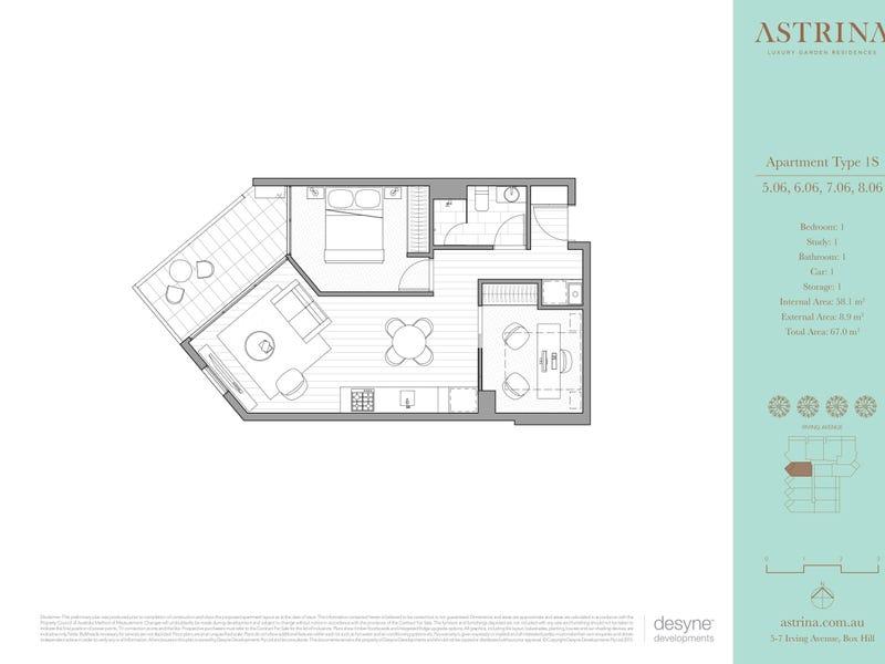 706/5-7 Irving Avenue, Box Hill, Vic 3128 - floorplan