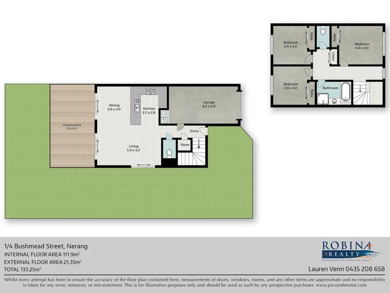1/4 Bushmead Street, Nerang, Qld 4211 - floorplan