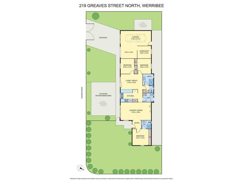 219 Greaves Street North, Werribee, Vic 3030 - floorplan