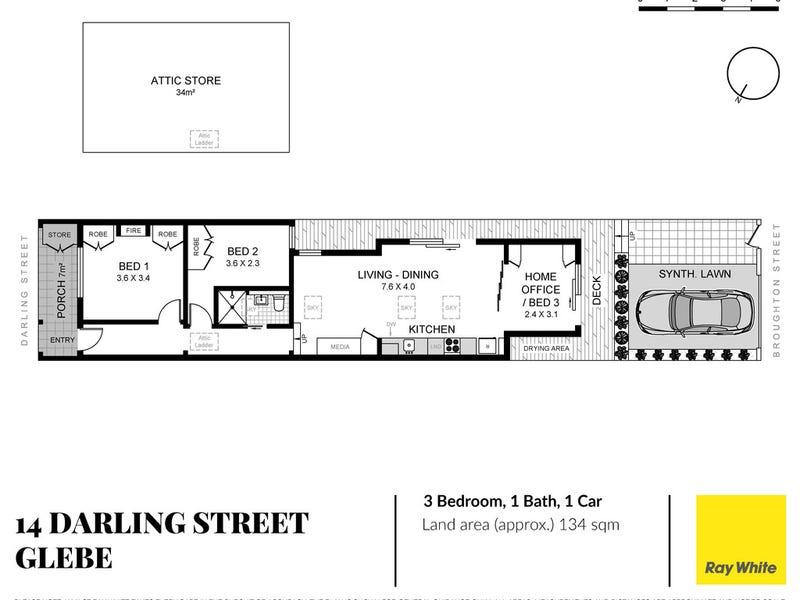 14 Darling Street, Glebe, NSW 2037 - floorplan