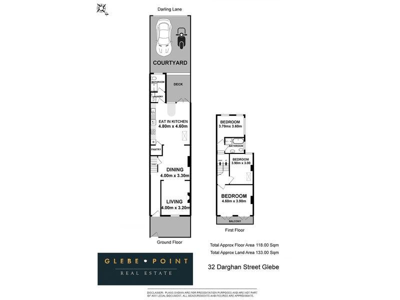 32 Darghan St, Glebe, NSW 2037 - floorplan