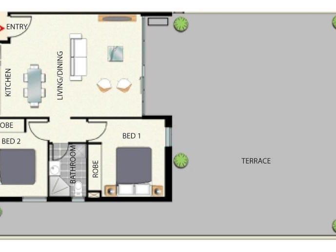 904/380 Little Lonsdale Street, Melbourne, Vic 3004 - floorplan