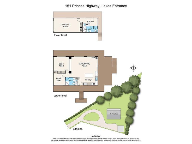 151 Princes Highway, Lakes Entrance, Vic 3909 - floorplan