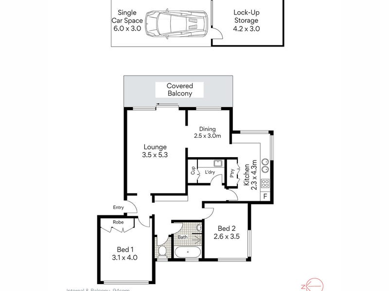 5/45 Stanton Road, Mosman, NSW 2088 - floorplan