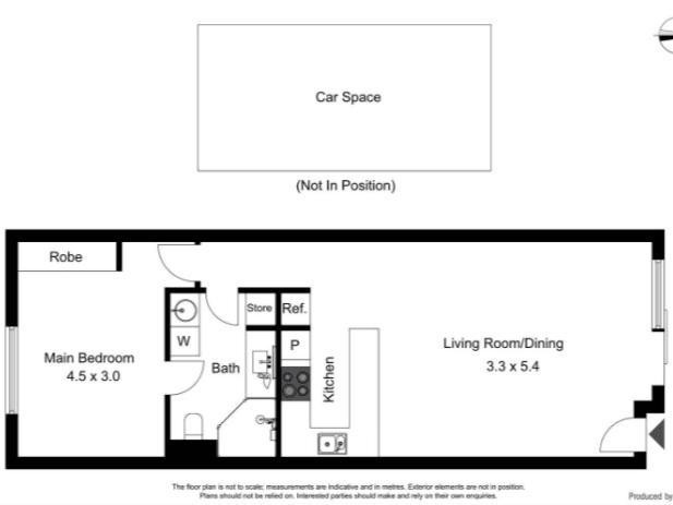 52B/12 Albermarle Place, Phillip, ACT 2606 - floorplan