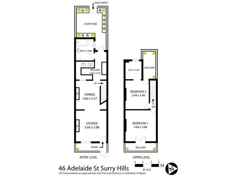 46 Adelaide Street, Surry Hills, NSW 2010 - floorplan