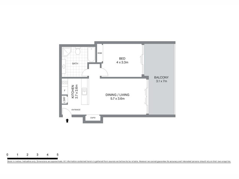 807/187 Kent Street, Sydney, NSW 2000 - floorplan
