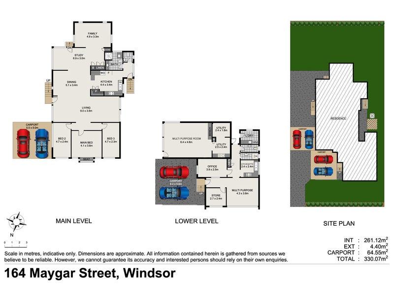 164 Maygar Street, Windsor, Qld 4030 - floorplan