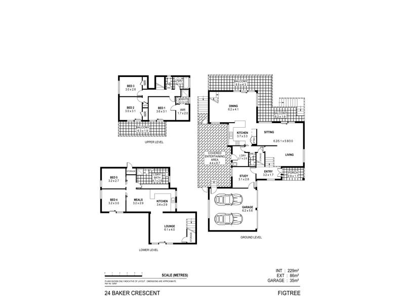 24 Baker Cres, Figtree, NSW 2525 - floorplan