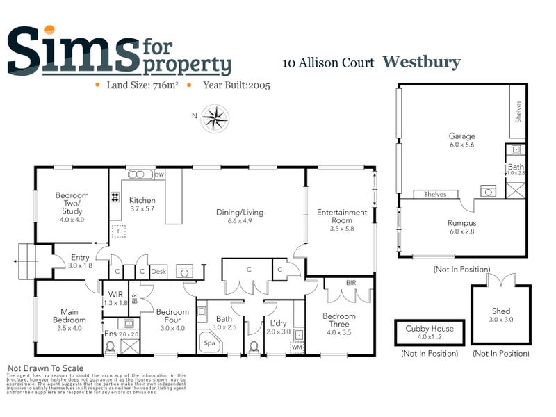 10 Alison Court, Westbury, Tas 7303 - floorplan