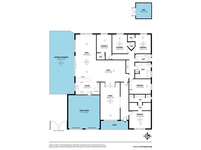 21 Beachport Road, Seaford Rise, SA 5169 - floorplan