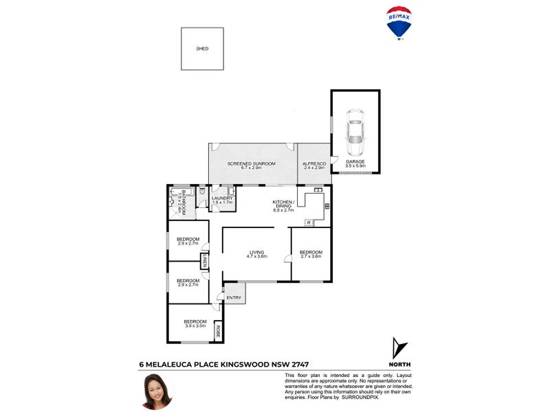 6 Melaleuca Place, Kingswood, NSW 2747 - floorplan