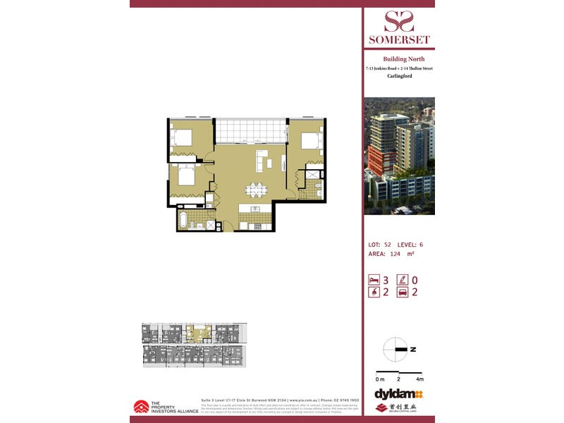 Lot 52/2-14 Thallon St, Carlingford, NSW 2118 - floorplan