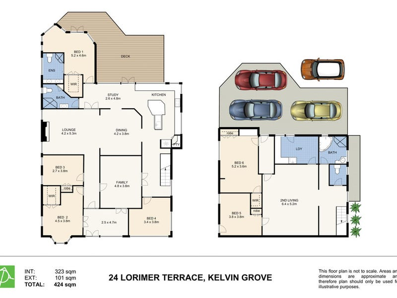 24 Lorimer Terrace, Kelvin Grove, Qld 4059 - floorplan