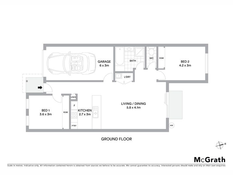 14 Gubbity Street, Ngunnawal, ACT 2913 - floorplan