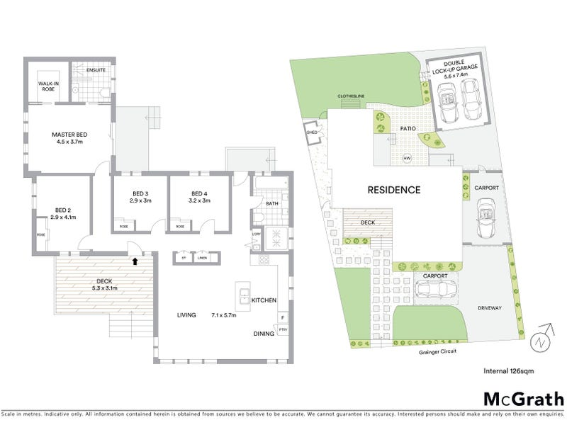 5 Grainger Circuit, Melba, ACT 2615 - floorplan