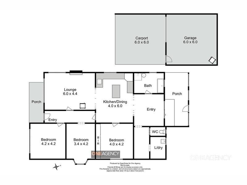 66 Langleys Road, Trowutta, Tas 7330 - floorplan