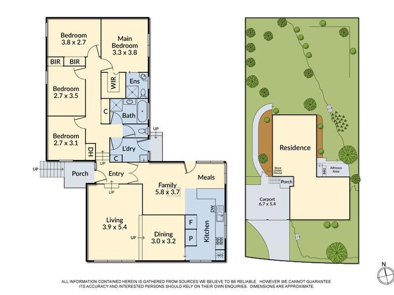 9 Jilpanger Road, Donvale, Vic 3111 - floorplan