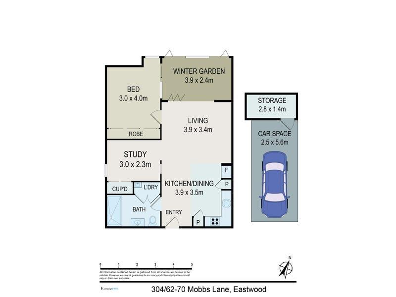 304/70 Mobbs Lane, Eastwood, NSW 2122 - floorplan