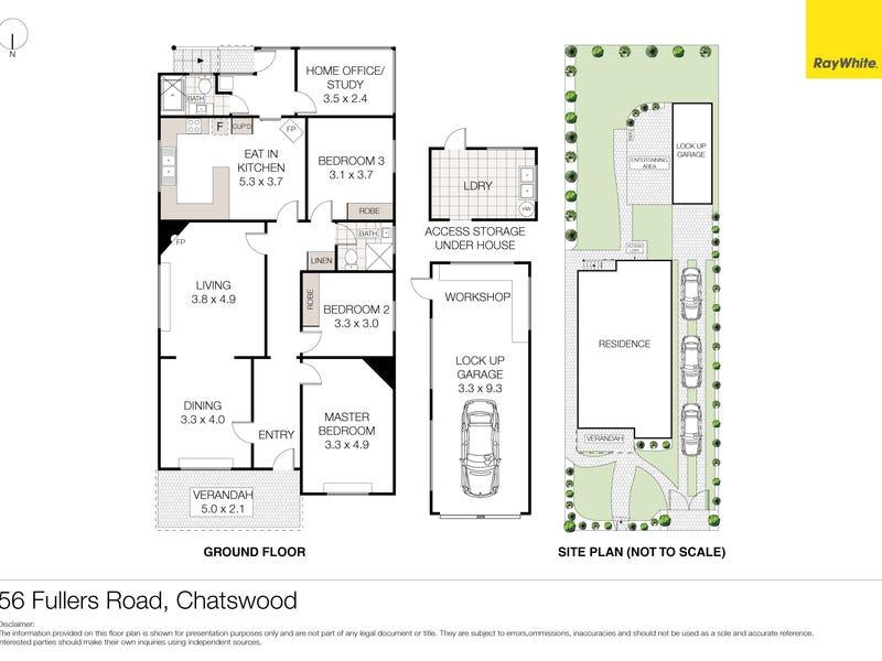 56 Fullers Road, Chatswood, NSW 2067 - floorplan