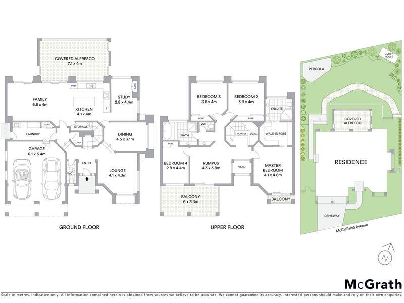 21 McClelland Avenue, Nicholls, ACT 2913 - floorplan