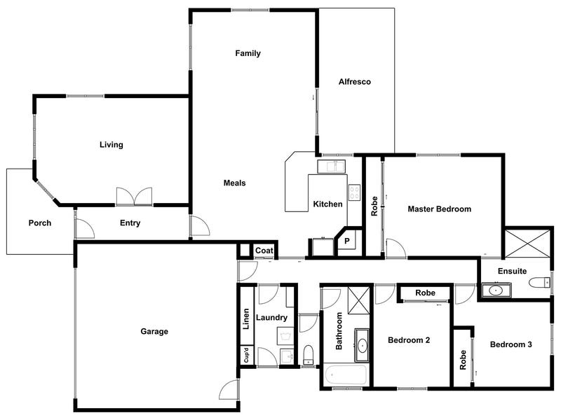 Franklin, address available on request - floorplan