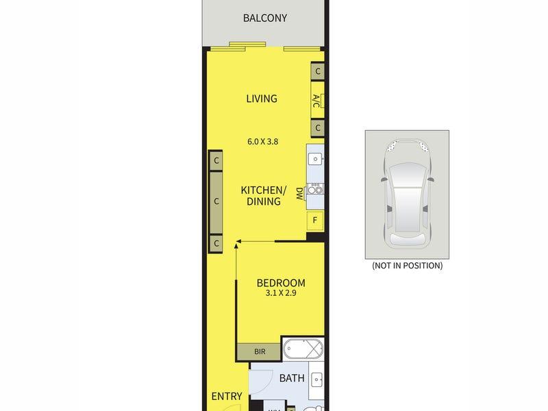1507/200 Spencer Street, Melbourne, Vic 3000 - floorplan