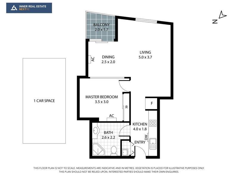 1211/594 St Kilda Road, Melbourne, Vic 3004 - floorplan