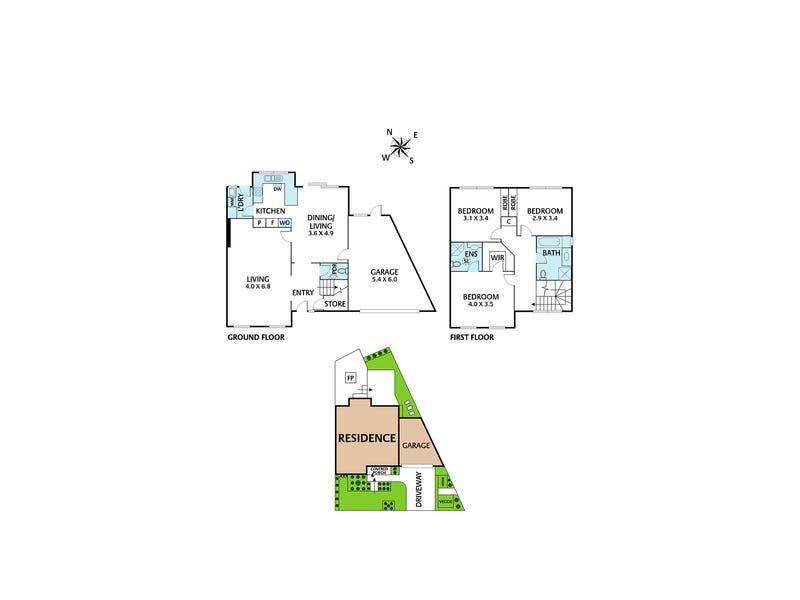 60 Grandview Terrace, Kew, Vic 3101 - floorplan