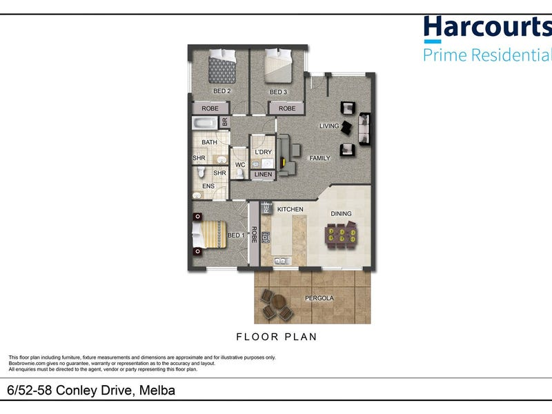 6/52-58 Conley Drive, Melba, ACT 2615 - floorplan