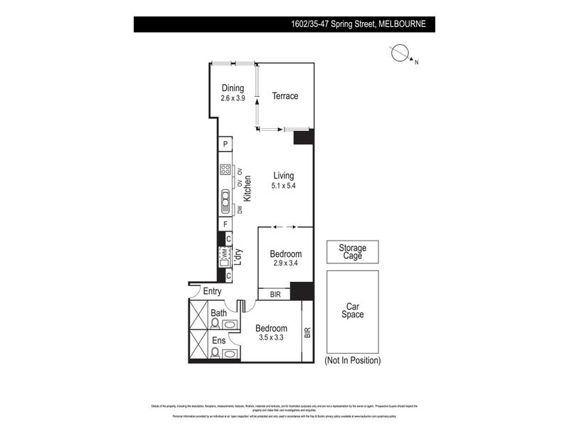 1602/35-47 Spring Street, Melbourne, Vic 3000 - floorplan