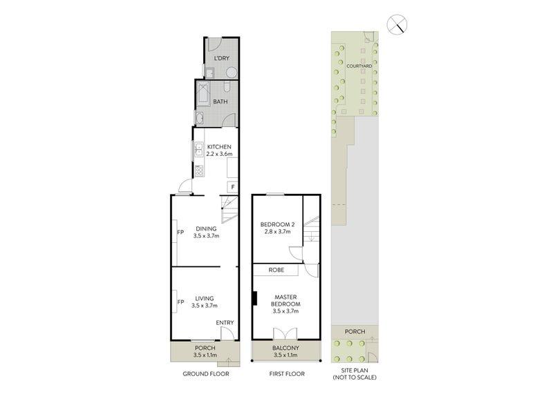 18 Gottenham Street, Glebe, NSW 2037 - floorplan