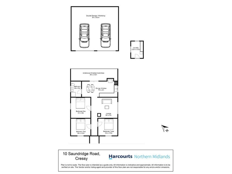 10 Saundridge Road, Cressy, Tas 7302 - floorplan