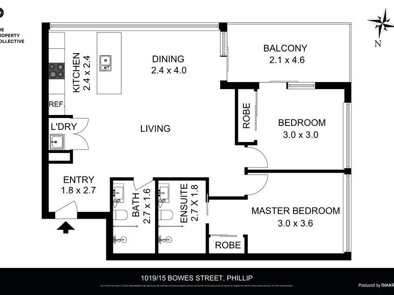 1019/15 Bowes Street, Phillip, ACT 2606 - floorplan