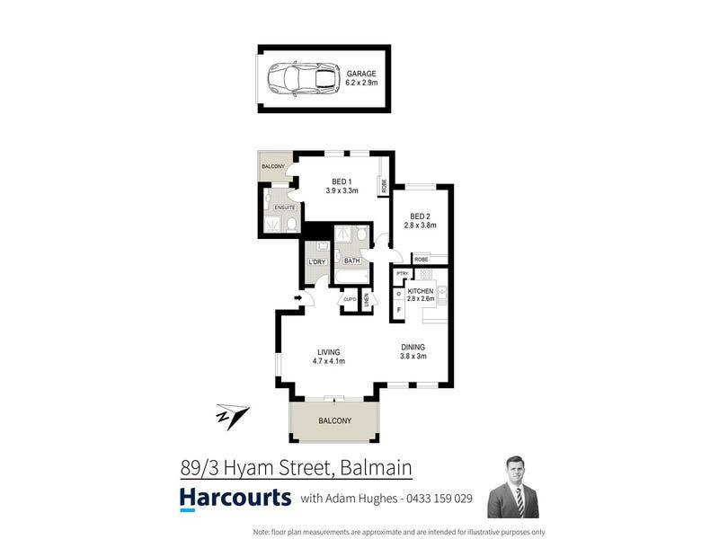 89/3 Hyam Street, Balmain, NSW 2041 - floorplan