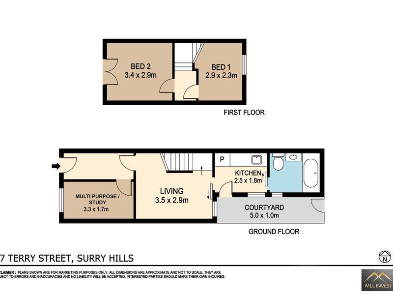 27 Terry Street, Surry Hills, NSW 2010 - floorplan