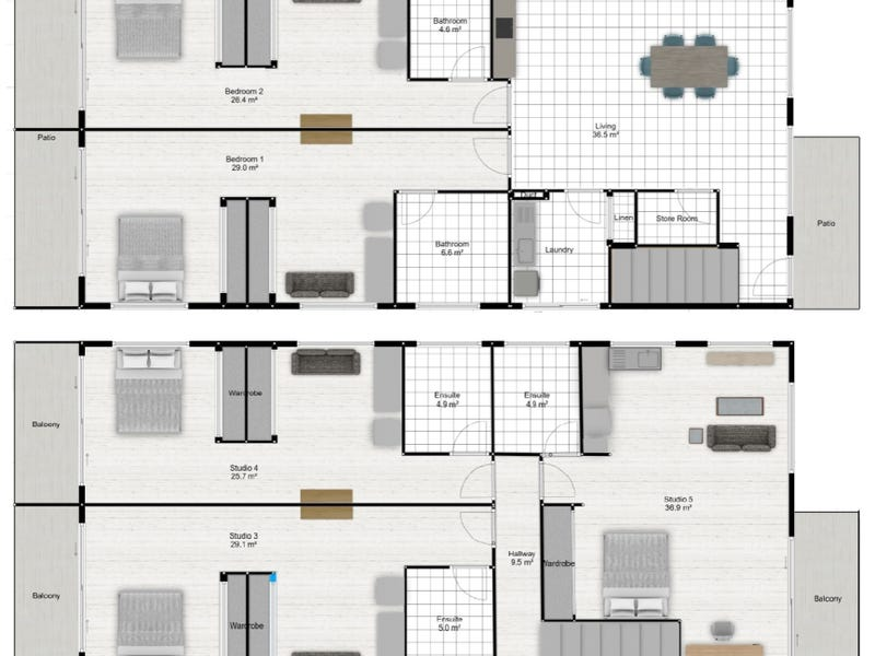 21 Hillgrove St, Upper Mount Gravatt, Qld 4122 - floorplan