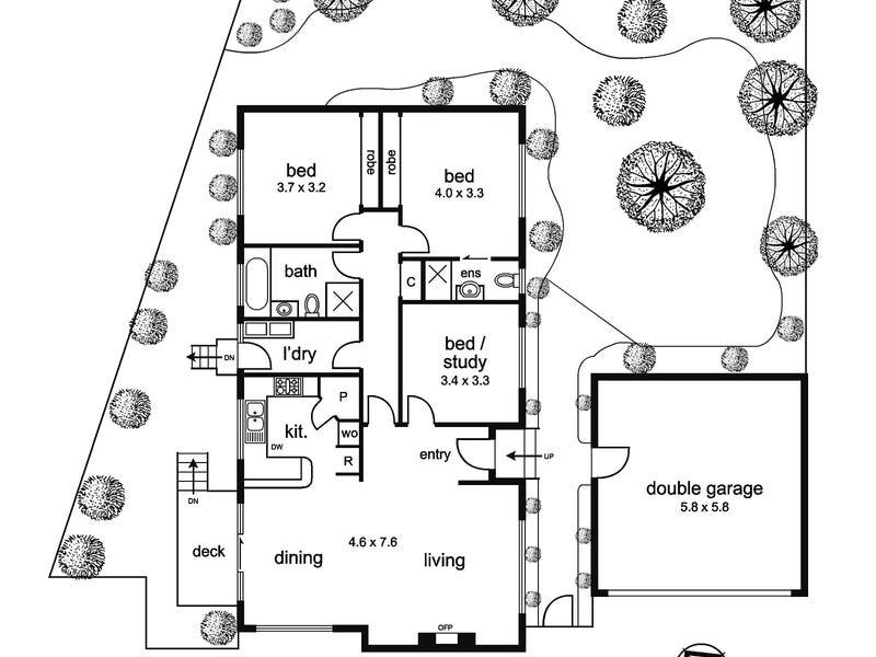 3 Parkhill Drive, Kew, Vic 3101 - floorplan