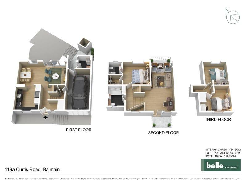 119A Curtis Road, Balmain, NSW 2041 - floorplan